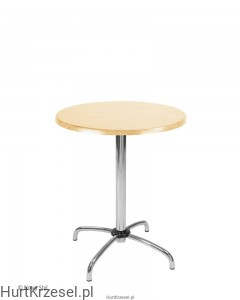 Podstawa CAFE table chrome wraz z blatem