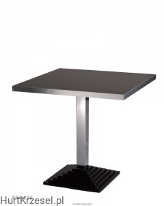 Podstawa SQUERTO A table chrome wraz z blatem