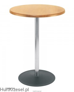 Podstawa LENA table 1100 chrome wraz z blatem