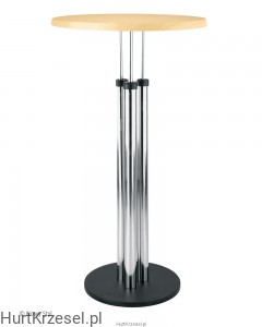 Podstawa BISTRO 1100 table chrome wraz z blatem