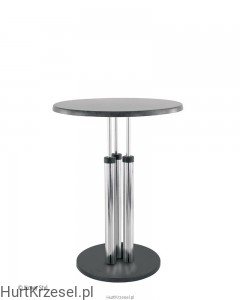 Podstawa BISTRO table chrome wraz z blatem