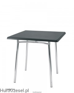 Podstawa TIRAMISU table chrome wraz z blatem